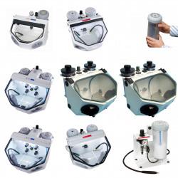 Prothesen / Apparaten / Prothetische zandstralers