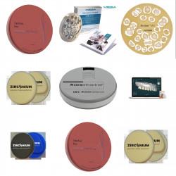 Materialen en apparaten voor CAD / CAM