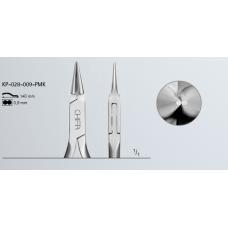 Ronde prothetische pincet, KP-028-009-PMK