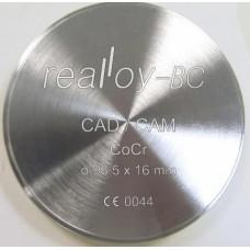 Realloy BC - CoCr freesschijf 98,5 x 13,5 mm