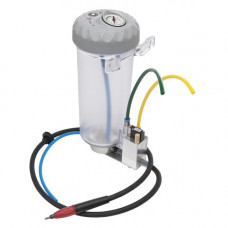 Basic Quattro IS zandstraaltank met een 25-70 micron nozzle