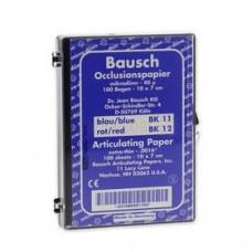 Pauzovací papier Bausch 10x7 cm, modrý, BK 11
