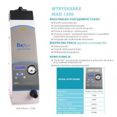 * Deflex - MAD 1300 spuitgietmachine