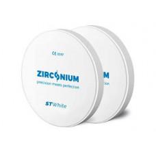 Zirkónium ST Biele 98x18 mm
