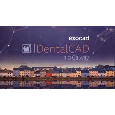 Exocad® DentalCAD Galway 3.0 versie CORE ontwerpsoftware