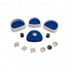 Pin-Cast Set voor Smart-Pin, Bi-V-Pin met hulzen en Pro-Fix