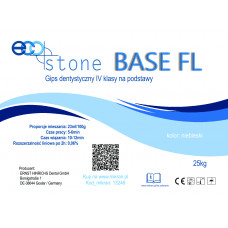 Gips IV klasse Eco Stone Base FL voor sokkels 25 kg Donkerblauw