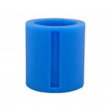 Siliconen ring nr. 3 blauw