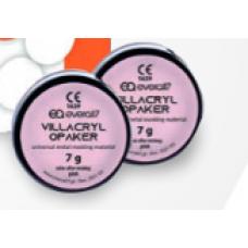 Villacryl Opaquer roze 2x7g + 12ml + etsmiddel