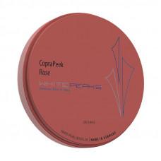 Copra PEEK dauw (roze) 98x10 mm Witte Pieken