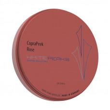 Copra PEEK rosa (roze) 98x25 mm Witte Pieken