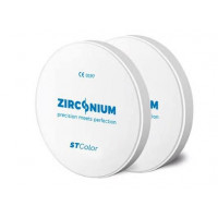Zirconium ST Color 98x18 mm