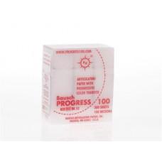 Obdĺžnikový pauzovací papier, červený 100u (300ks / kazeta) BK52