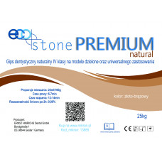 Gips IV klasse Eco Stone Natural Premium 25 kg goudbruin