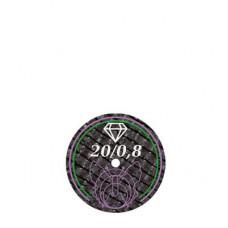 Butterfly diamant gecoate slijpschijf 20x0,8mm BF