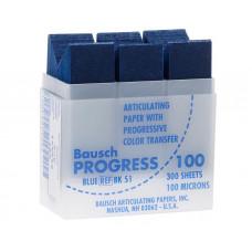 Obdĺžnikový pauzovací papier, modrý 100u (300ks / krabička) BK51