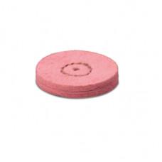 Zeemleer met puimsteen 22mm roze (2e stap) - EVE