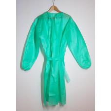 Beschermschort van groen fleece, dikte 40 g/m2