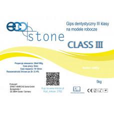 Gips, III klasse Eco Stone 5 kg. geel