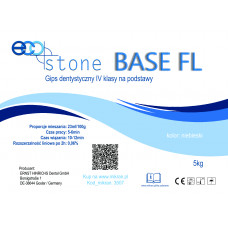 Gips IV klasse Eco Stone Base FL voor sokkels 5 kg Donkerblauw