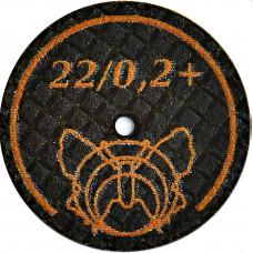 Butterfly ultrafijne slijpschijf 22 / 0.2 + BF