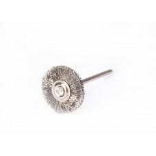 21 mm Stahldrahtbürste auf einem Polirapid-Griff
