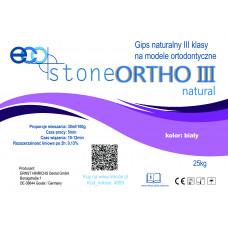 Gips III klasse Eco Stone Ortho 25 kg Naturel wit