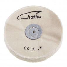 Hatho - katoenen schild 4x50 (100mm) mousseline