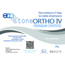 Gips IV klasse Eco Stone Ortho 25kg Premium superwit