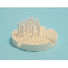 Porseleinen bakplaat met keramische pinnen (porseleinen tafel)