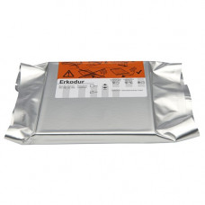 Erkodur folie vierkant 125x125mm 1.5mm (10st)