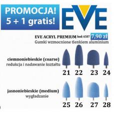 Blauwe siliconen gummen Promotie Koop 5 stuks gratis, zesde