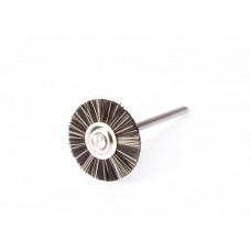 Extra steife Bürste, Durchmesser 21 mm, mit Polirapid-Griff