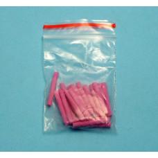 Pins voor de standaard voor keramiek roze 10 stuks