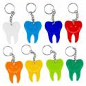 AnGer gekleurde tand sleutelhanger