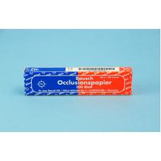 Rovný uhlíkový papier 40u - modro-červený BK80