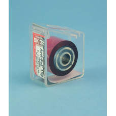 Pauzovací papier Arti-fol metalická čierna a červená 12u BK28