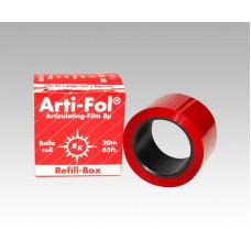 Overtrekpapier Arti-Fol 8u, enkelzijdig, rood supplement BK1021