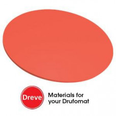 Dreve Drufosoft kleur 120mm 3mm neon-rood (neon rood)