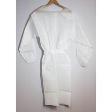 Beschermschort van fleece 50 g/m2, wit