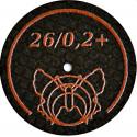 Butterfly versterkte ultradunne slijpschijf 26/02 + BF