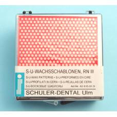 Wassjablonen RN III Schuler Dental