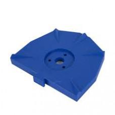 Zeiser - groot blauw bord pak / 100 stuks