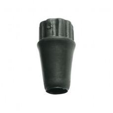 Rubber end cap for anti-tilt rod