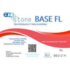 Gips IV klasse Eco Stone Base FL voor sokkels 5 kg Oranje