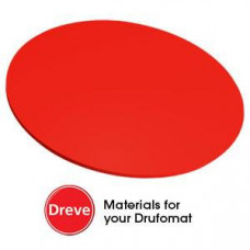 Dreve Drufosoft kleur 120mm 3mm rood (rood)