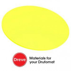 Dreve Drufosoft kleur 120mm 3mm neon-geel (neon geel)